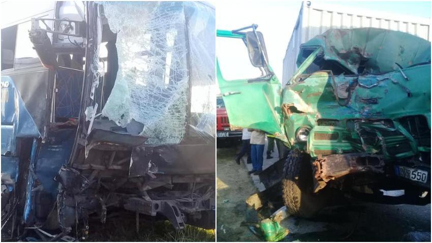 Accidente de tránsito en Sancti Spíritus deja un muerto y ocho heridos