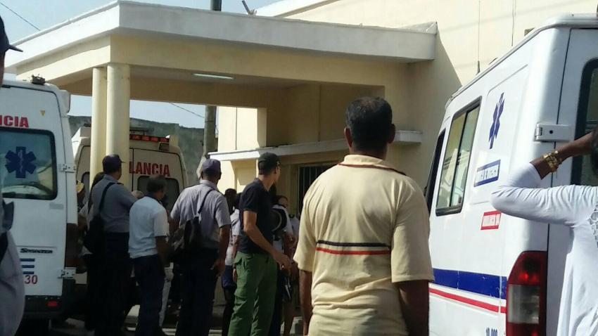 Accidente en Santiago de Cuba deja 30 personas heridas