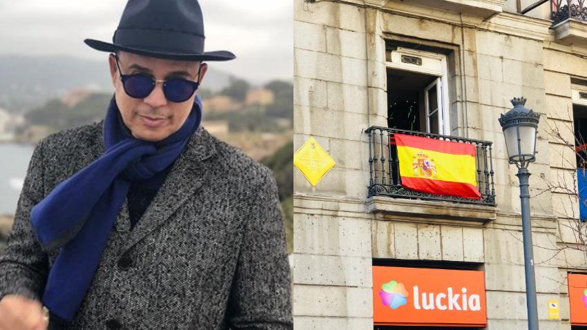 """Alexis Valdés le dedica unos versos a España: """"De España, cuando te vas (Que lo crea quien se engaña)  Tú sabes que volverás Pues nunca te vas de España."""""""