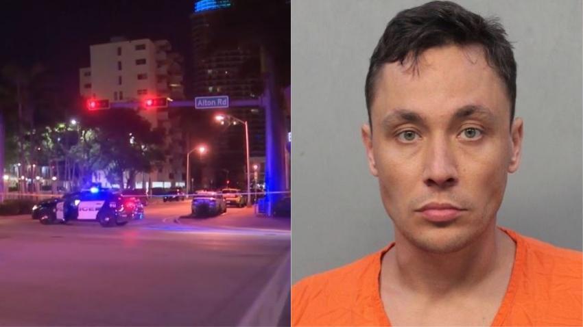 Arrestan a un hombre que se dio a la fuga tras atropellar y matar a un peatón en Miami Beach