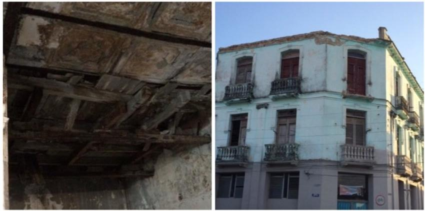 Villaclareños se niegan a irse de un inmueble en ruinas con peligro de derrumbe
