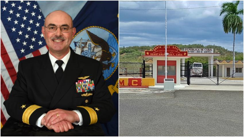 Gobierno de Estados Unidos despide al comandante al frente de la prisión de la Base Naval de Guantánamo