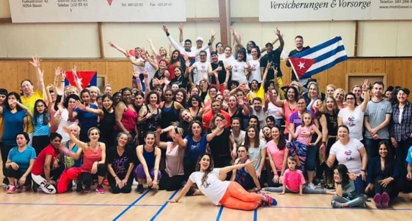 Bailarina cubana recaudada ayuda en Suiza para los damnificados del tornado en La Habana
