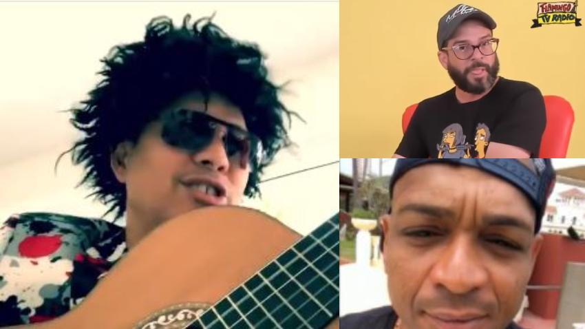 Cristinito le canta al problema entre Alexander Otaola y Descemer Bueno