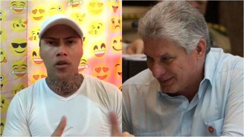 Cubano envía contundente mensaje a Díaz-Canel