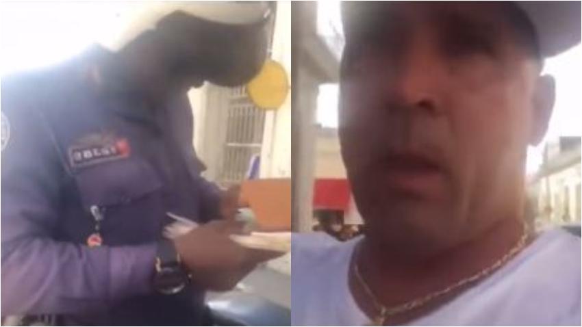 """Policía en Cuba a un cubano residente en Miami: """"La licencia de allá no sirve aquí"""""""