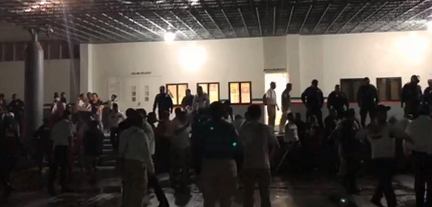 Cubanos protestaron en oficina migratoria de Tapachula y se fugaron por miedo a ser devueltos a la Isla