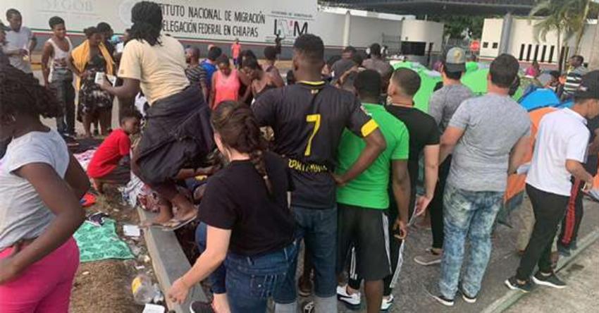 ONG presenta amparos a favor de migrantes cubanos en Tapachula para que no sean deportados a la Isla y puedan obtener sus salvoconductos