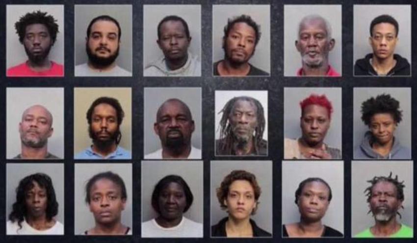 Operativo antidrogas en Miami-Dade deja al menos a 40 personas detenidas