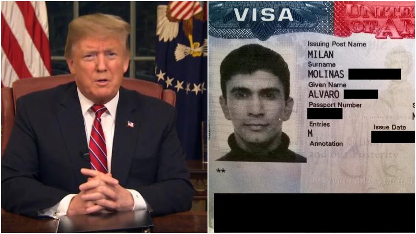 Presidente Trump ordena a su administración resolver el problema de inmigrantes que se quedan más tiempo que el permitido de su visa