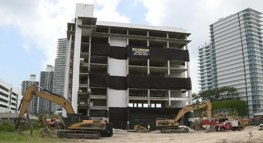 Hospital abandonado en Miami Beach será implosionado