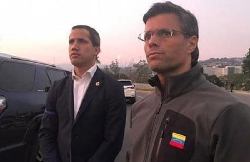 Leopoldo López y su familia se refugian en la embajada de Chile en Venezuela