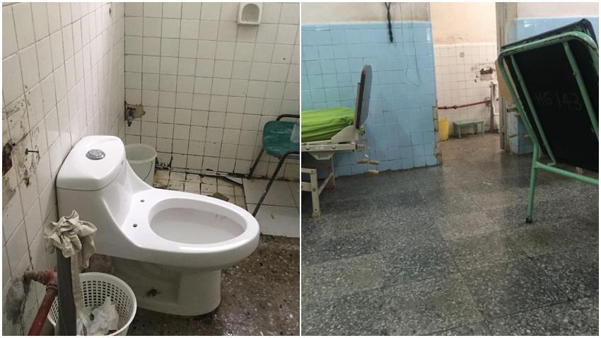 Cubana denuncia las malas condiciones de hospital en Mayabeque donde está ingresada su abuela