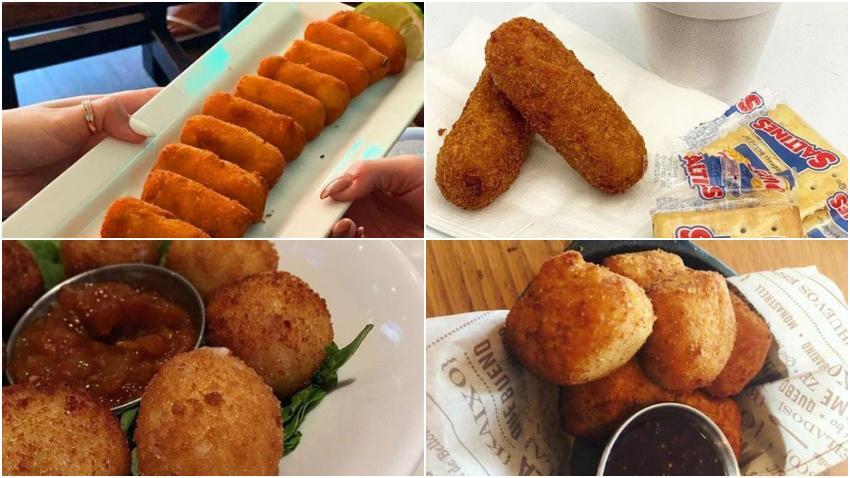 Los 10 mejores lugares para comer croquetas en Miami