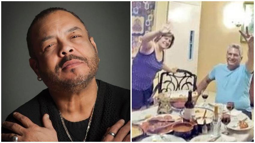 Pancho Céspedes defiende a Díaz-Canel tras polémica foto cenando en casa y hace comentario racista contra las Damas de Blanco