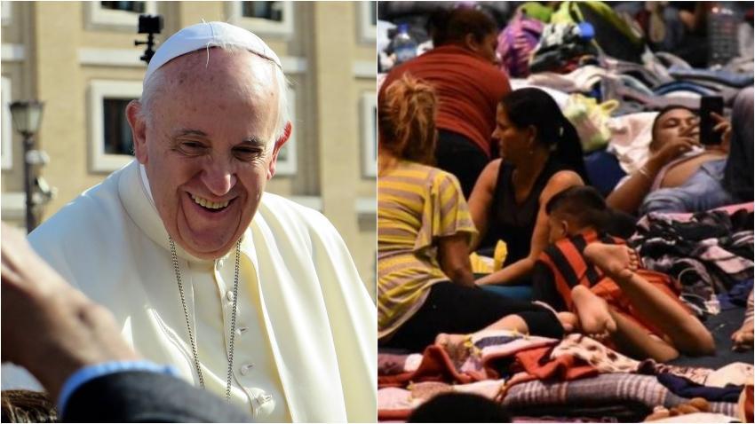 El Papa Francisco dona $500,000 dólares a iglesias en México para ayudar a los migrantes