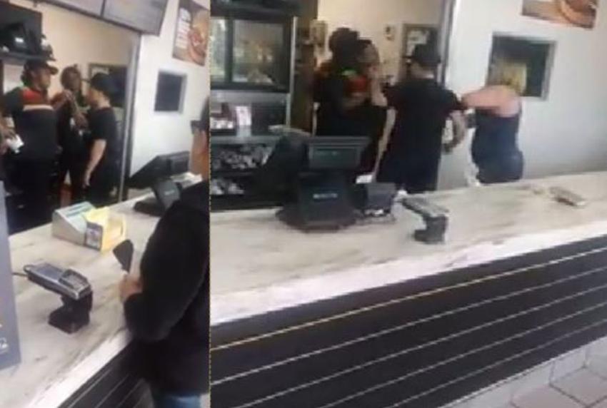 Video de un teléfono móvil muestra pelea en Burger King en el sur de Miami