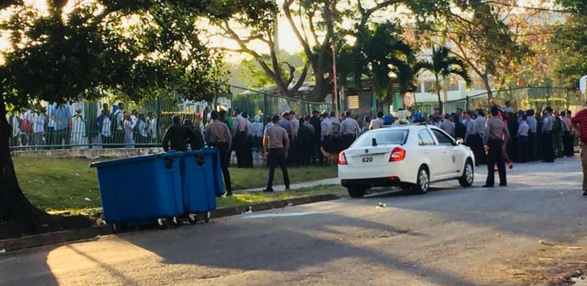 Nota oficial del gobierno de Cuba sobre los violentos incidentes entre la policía y estudiantes de medicina del Congo en la isla