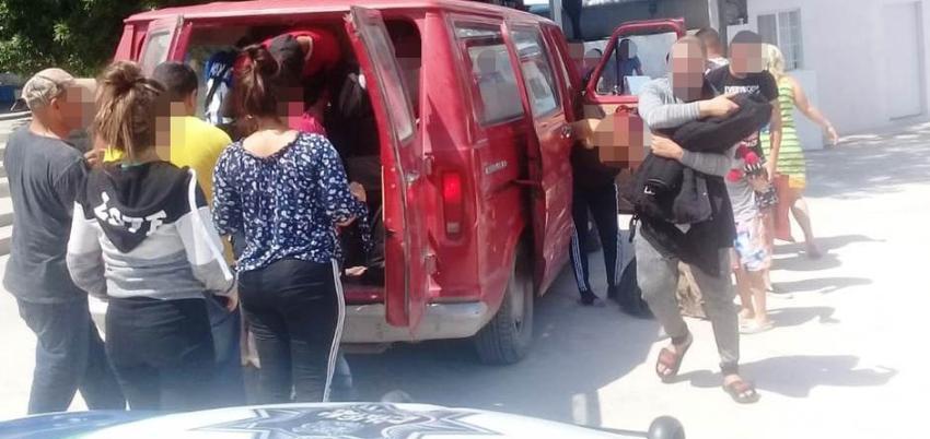 Un total de 17 migrantes cubanos fueron rescatados por las autoridades mexicanas en Reynosa