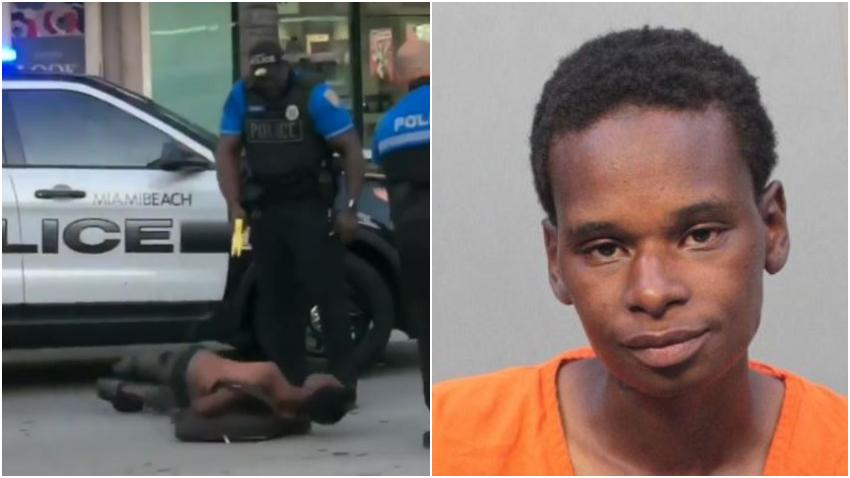 Policía de Miami Beach dispara su pistola eléctrica contra un hombre sin hogar tras una pelea en el trolley