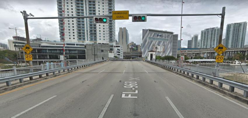 Cerrarán el puente levadizo de la Primera Calle en el downtown de Miami por los próximos 3 años