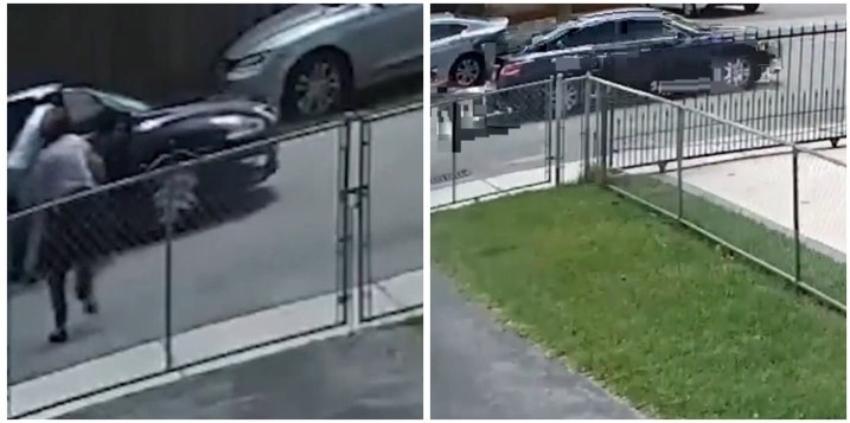 Robo a una anciana en la Pequeña Habana queda captado en cámara, la policía busca a los sospechosos