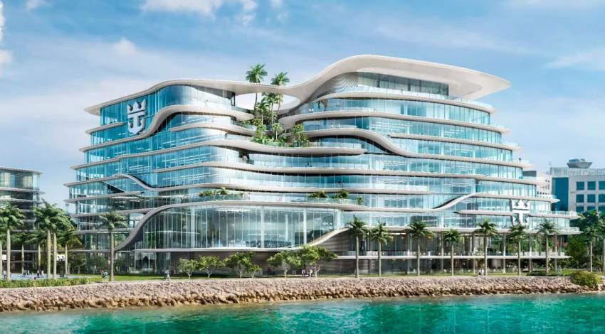 Así será el nuevo edificio de Royal Caribbean en el Puerto de Miami