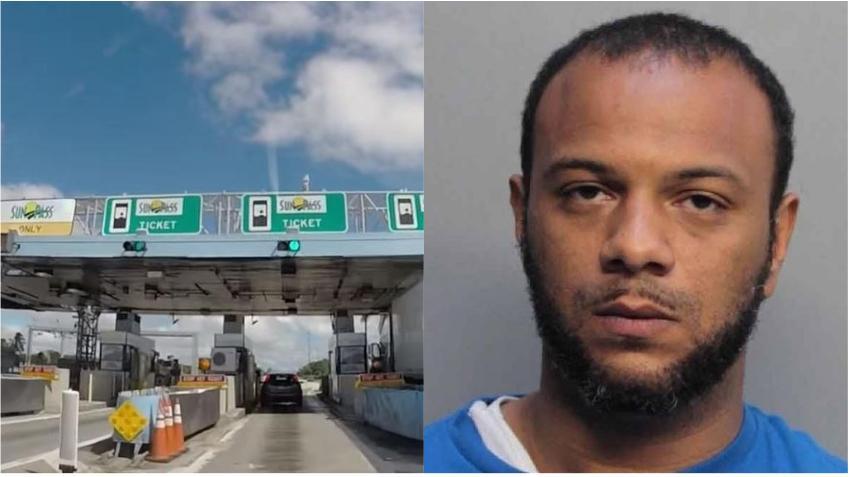 Hombre de Miami molesto por los tolls amenaza con volar el centro de SunPass del Doral