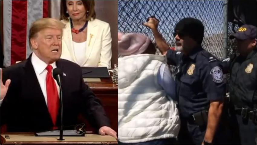 """Donald Trump a los que buscan llegar a Estados Unidos: """"Si los inmigrantes ilegales están descontentos en los centros de detención, que no vengan"""""""