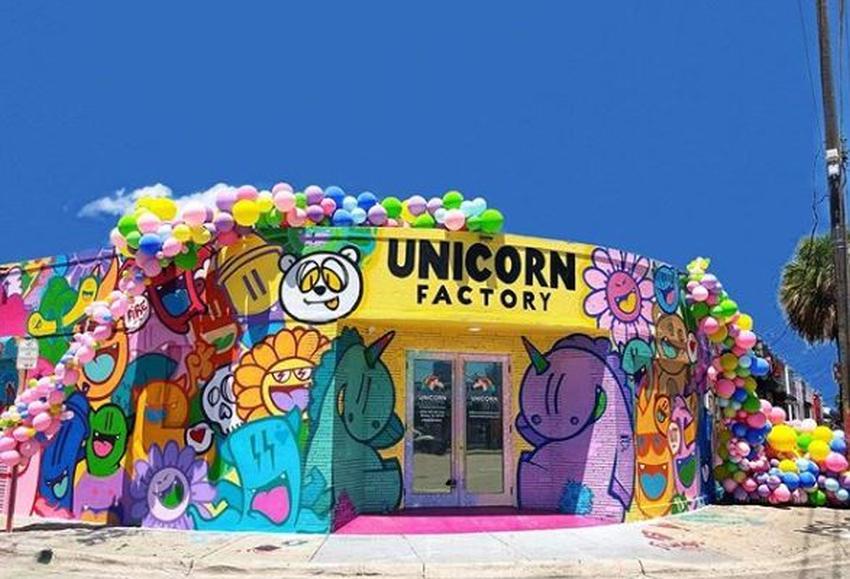 Un museo para selfies: Unicorn Factory en Wynwood, epicentro de la magia tanto para niños como para adultos