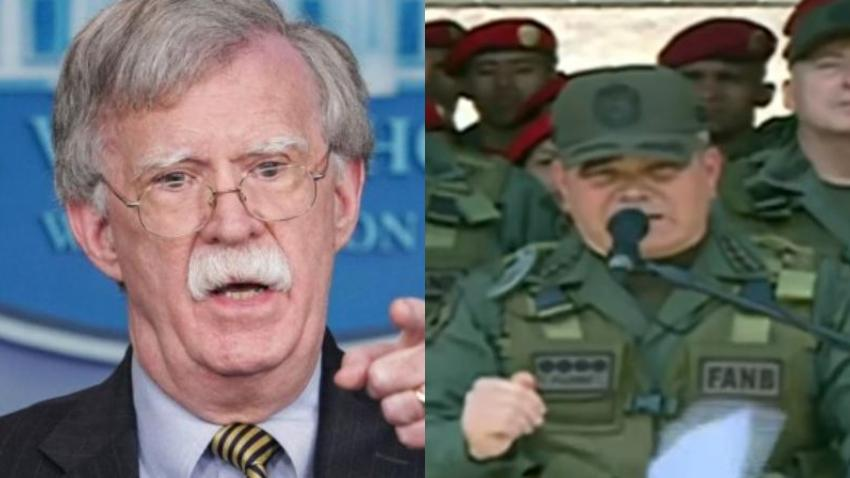 Asesor de Seguridad Nacional asegura que el Ministro de Defensa de Venezuela está en contra de Maduro