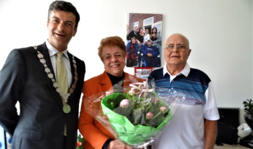 Cubanos exiliados en Holanda celebran 60 años de matrimonio, y revelan allí se sienten como en casa