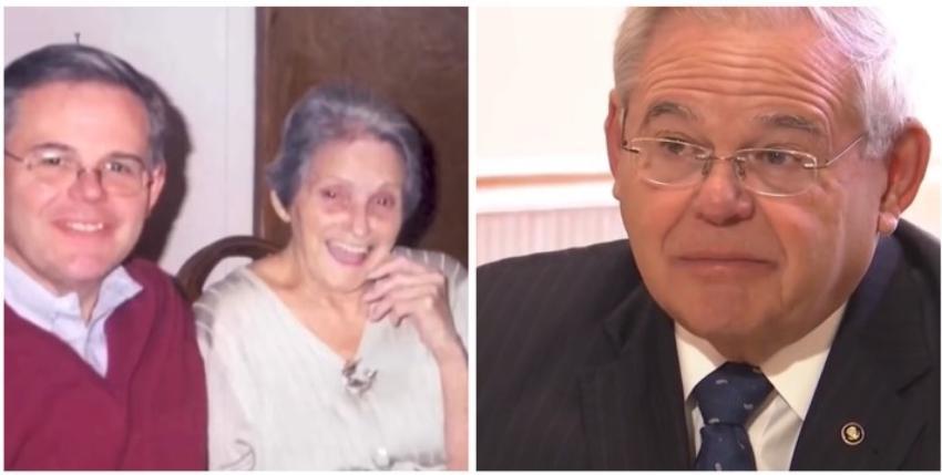 Entre lágrimas Bob Menéndez habló de su madre cubana y del coraje que tuvo al emigrar