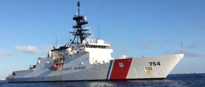 Buque CG James de la Guardia Costera de EEUU se acerca a aguas venezolanas