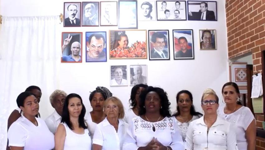 Las Damas de Blanco envían un mensaje por el Día de las Madres