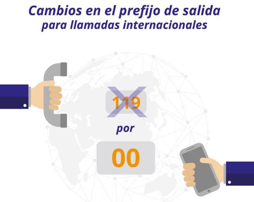 Cambió en Cuba el código de salida para llamadas internacionales, ahora será 00 antes de marcar el número deseado