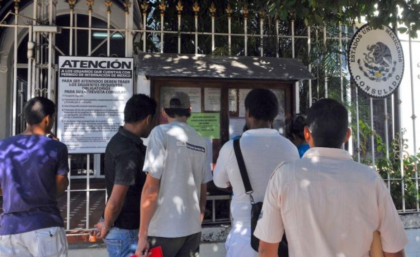 A partir de hoy la Embajada de México en Cuba abre citas online para tramitar visas, aunque advierte reducirá el número de las mismas
