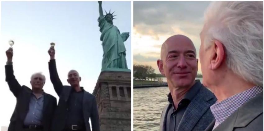 Jeff Bezos declara ante el Congreso de Estados Unidos y resalta la historia de su padre adoptivo que vino de Cuba