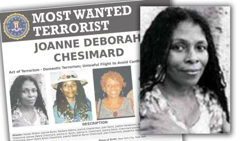 El FBI ofrece $2 millones de dólares por Joanne Chesimard, prófuga de la justicia estadounidense asilada en Cuba