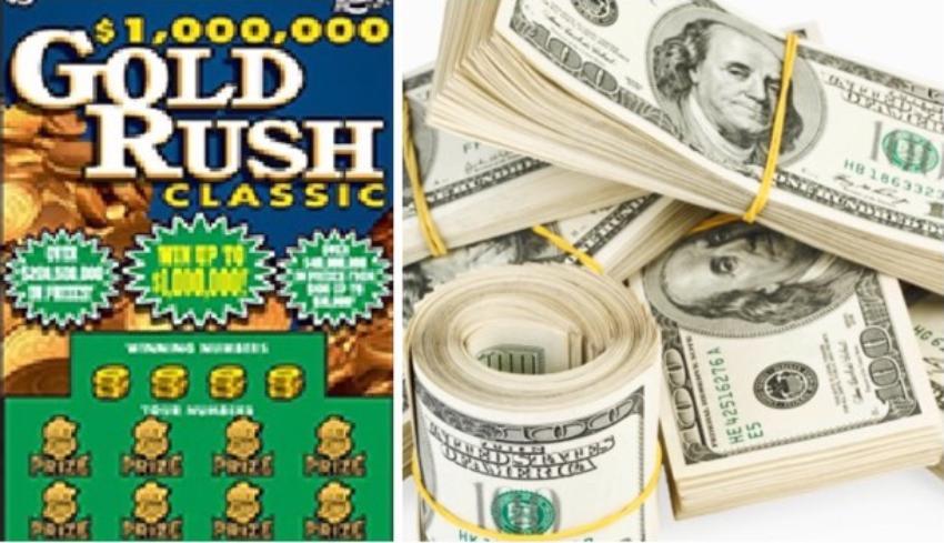 Afortunado residente en Jacksonville, Florida, gana $ 1 millón con raspadito