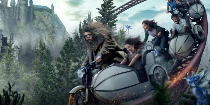 «La Aventura en Moto de las Criaturas Mágicas de Hagrid» será la nueva y espectacular montaña rusa de Universal Orlando