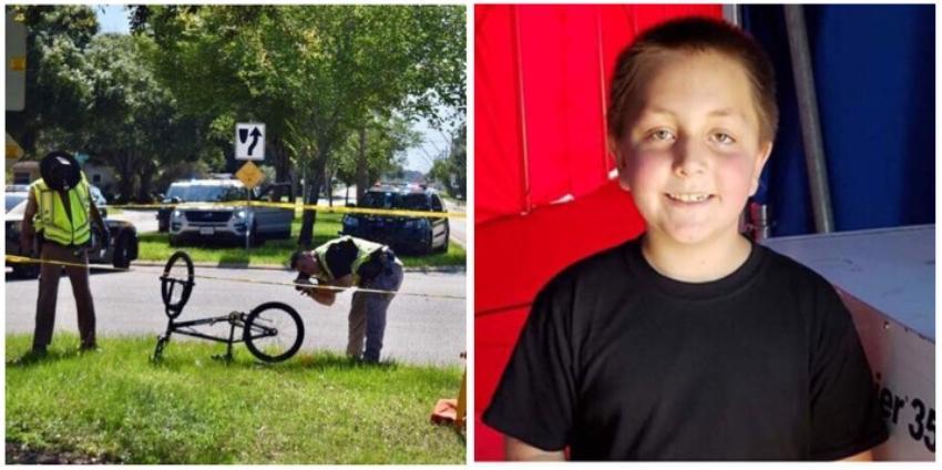 Niño muere atropellado por una camioneta en Florida, mientras se dirigía a la escuela en bicicleta