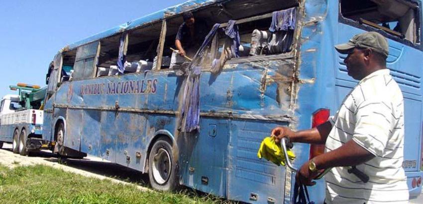 Tres fallecidos en accidente al oriente de Cuba