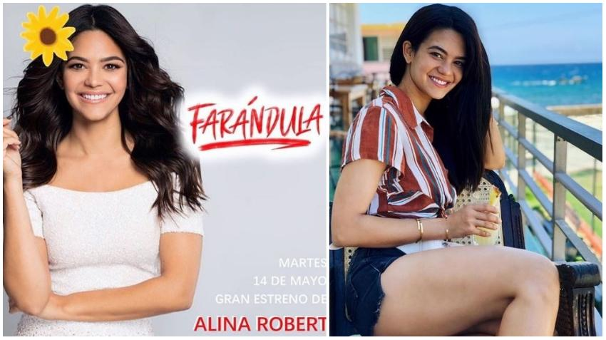 Actriz y modelo cubana Alina Robert, se va a Cuba a trabajar de gratis en una obra de teatro en La Habana