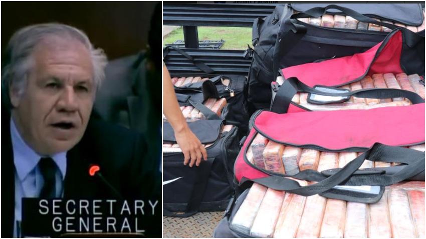 Secretario general de la OEA felicita a Panamá por interceptar cargamento de droga proveniente de Cuba
