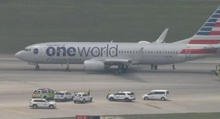 Avión de American Airlines realiza aterrizaje de emergencia en el aeropuerto de Miami