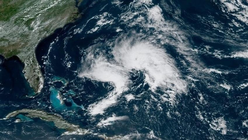 Se forma la tormenta subtropical Andrea en el océano Atlántico