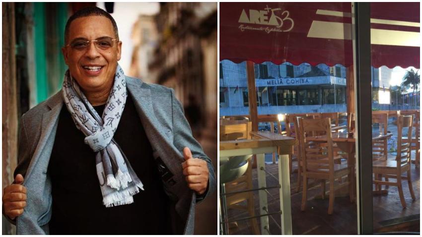 Cantante Issac Delgado tiene un restaurante en La Habana, Area+53, cerca del hotel Meliá Cohíba