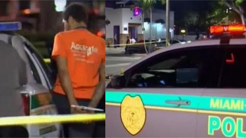 Pelea entre clientes dentro de un Taco Bell en Miami deja una persona apuñalada; dos arrestados