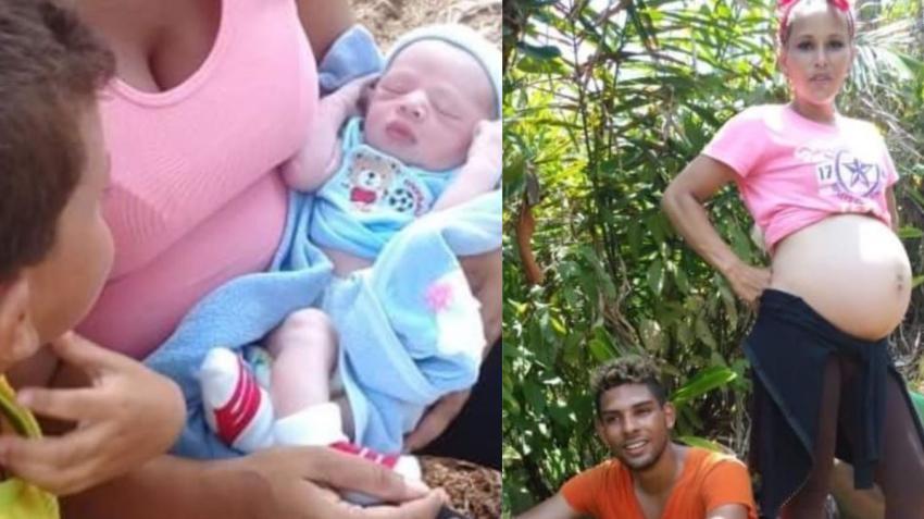 Nombran Darién al bebé de padres cubanos que nació en plena selva panameña